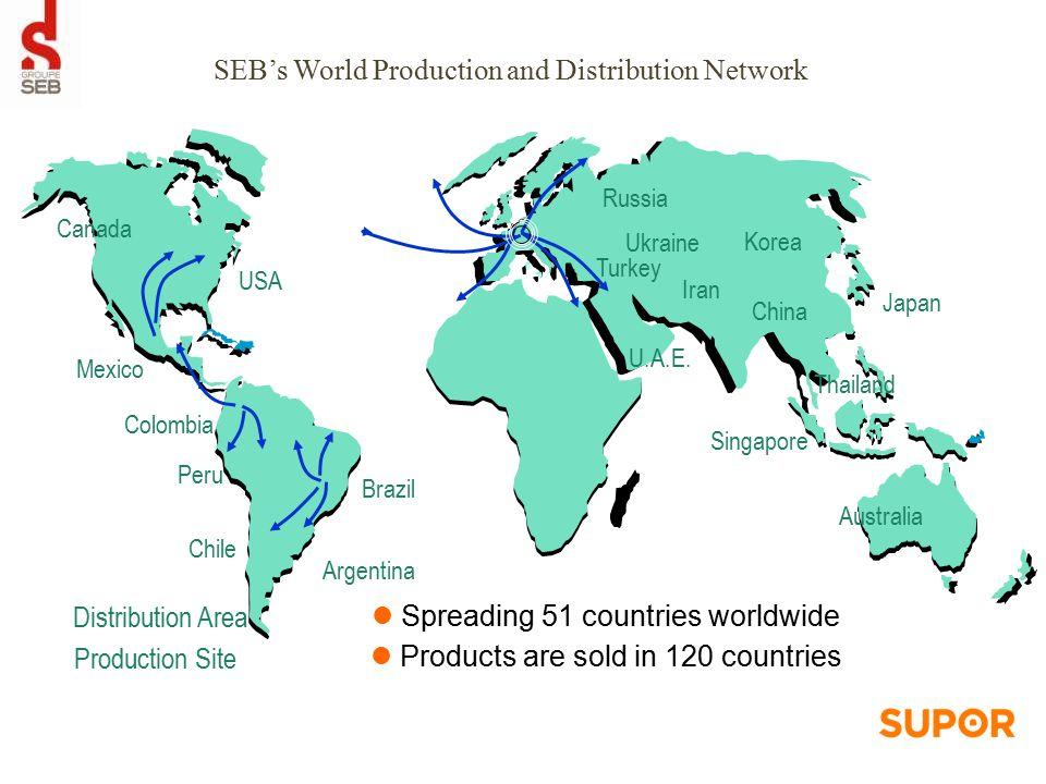 SEB Brands 7 Global brands 12 Local brands /