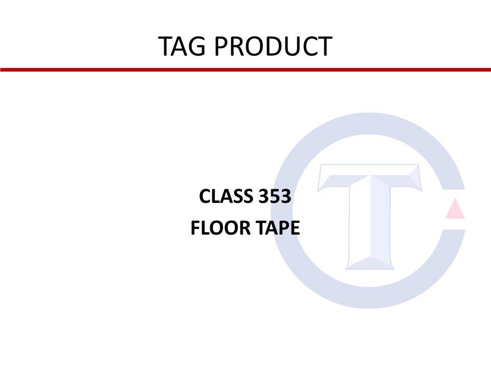 CLASS 353 FLOOR TAPE
