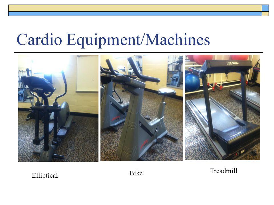 Cardio Equipment/Machines Elliptical Bike Treadmill
