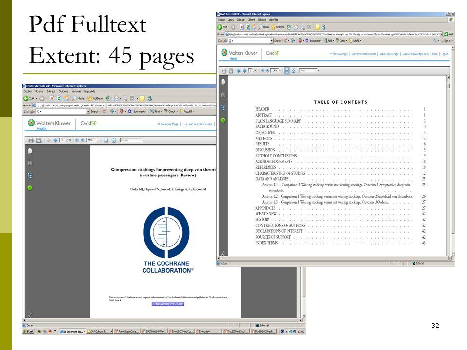 32 Pdf Fulltext Extent: 45 pages