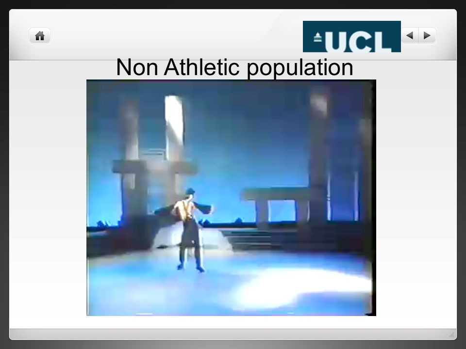 Non Athletic population