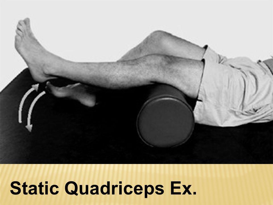 Static Quadriceps Ex.