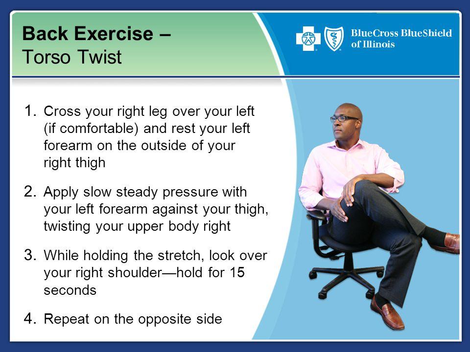 Back Exercise – Torso Twist 1.
