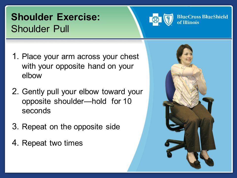 Shoulder Exercise: Shoulder Pull 1.