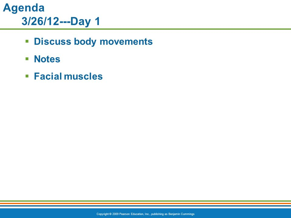 Copyright © 2009 Pearson Education, Inc., publishing as Benjamin Cummings Superficial Posterior Muscles of the Body Table 6.4 (2 of 3)