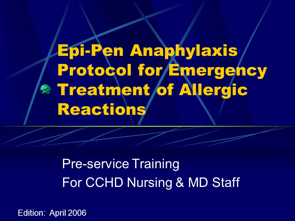 Definition of Anaphylaxis An allergic hypersensitivity reaction to a foreign protein or drug Affects the respiratory and circulatory system and can result in shock May cause increased irritability, shortness of breath, blue color to the skin and sometimes convulsions, unconsciousness and death (Taber's)