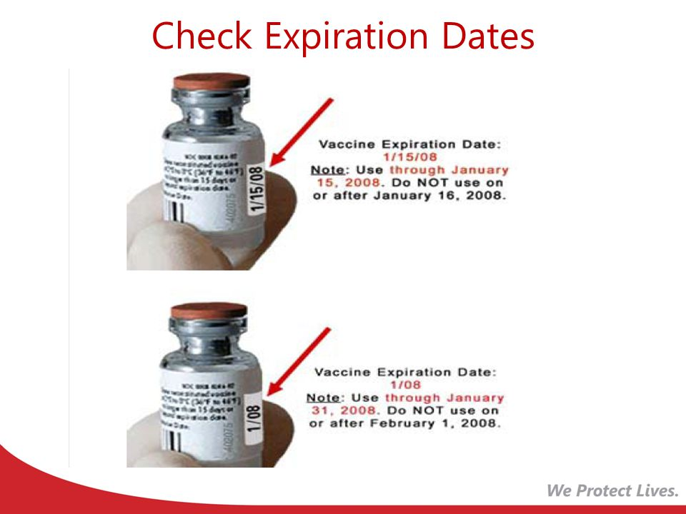 Check Expiration Dates