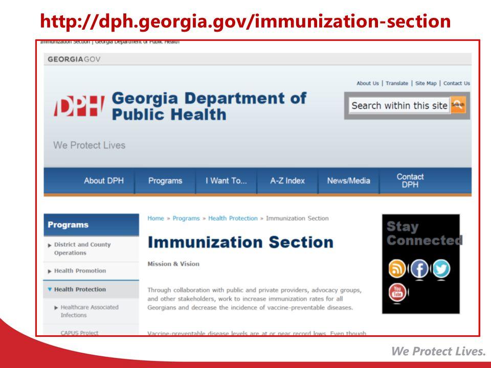 http://dph.georgia.gov/immunization-section