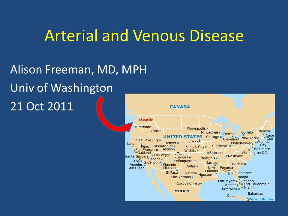 Outline Review anatomy Arterial Disease – Peripheral arterial disease, arterial ulcerations, abdominal aortic aneurysms – Clinical presentation, diagnostic evaluation, treatment and management Venous Disease – Chronic venous insufficiency, varicose veins, venous ulcers – Clinical presentation, diagnostic evaluation, treatment and management Review of Lower Extremity Ulcers