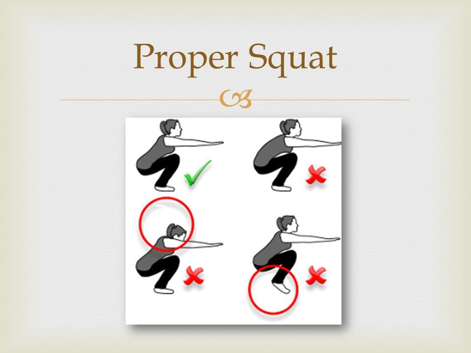  Proper Squat