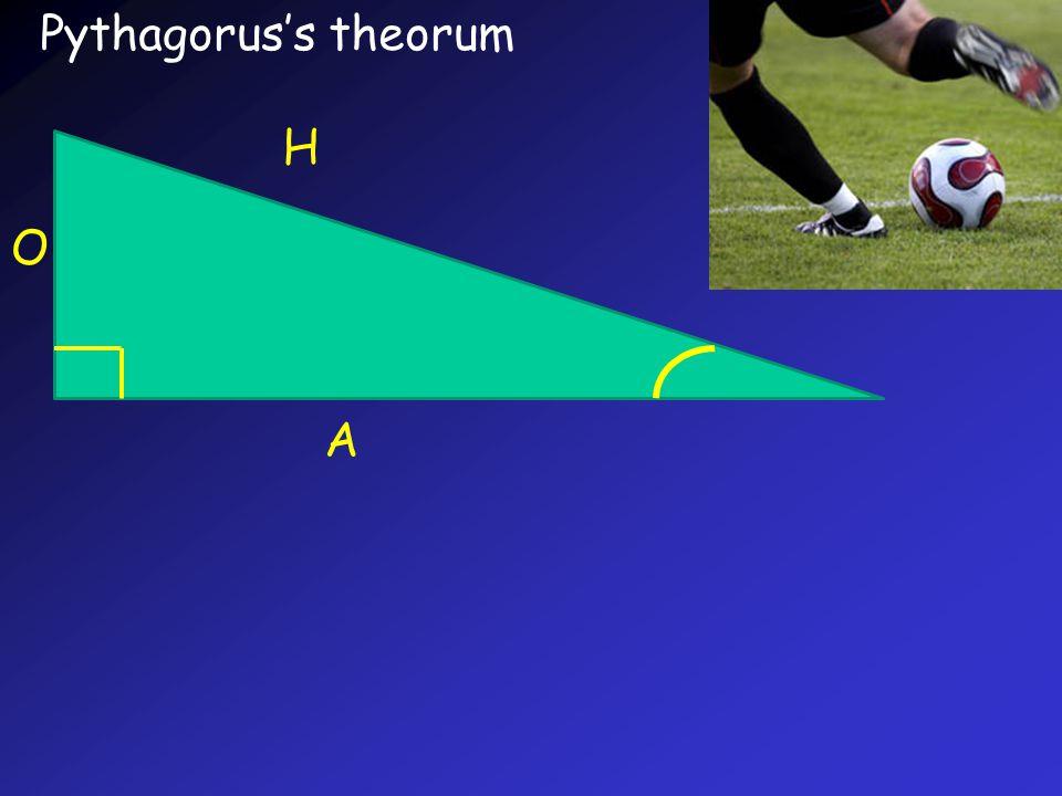 Pythagorus's theorum H A O