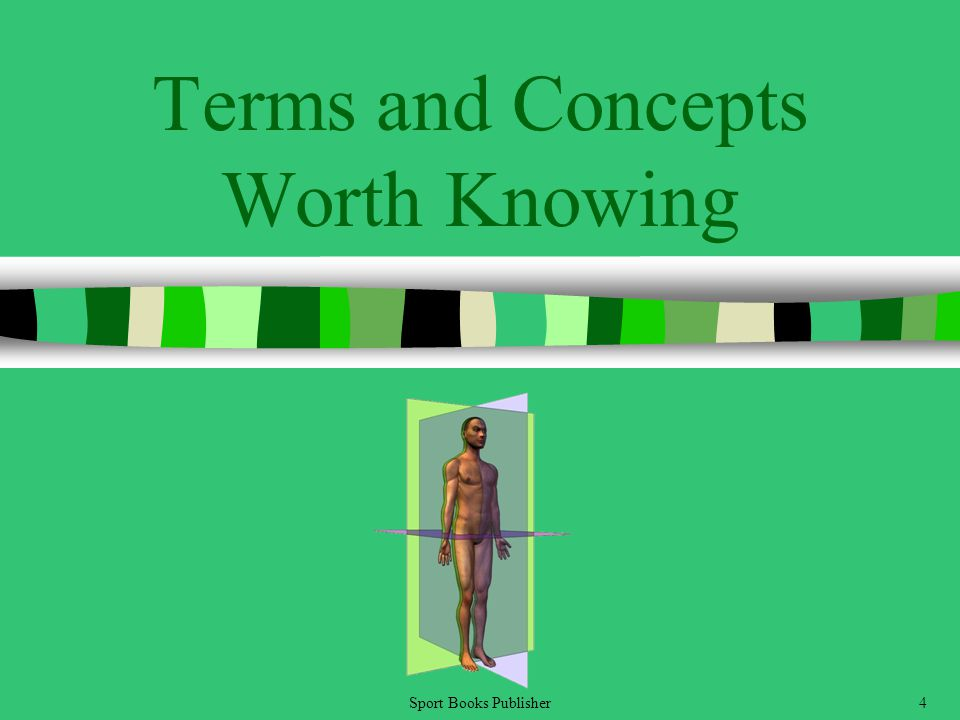 Sport Books Publisher4 Terms and Concepts Worth Knowing