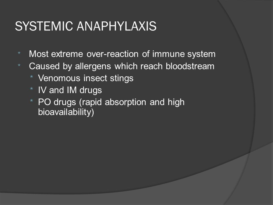 Anaphylaxis- IgE-mediated  Antibiotics and other medications Penicillins, β-lactams, tetracyclines, sulfas, vaccines, immunotherapy  Foreign proteins Latex, hymenoptera venoms, heterologous sera, protamine,  Foods Shellfish, peanuts, and tree nuts  Exercise induced