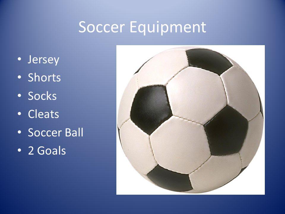 Soccer Equipment Jersey Shorts Socks Cleats Soccer Ball 2 Goals