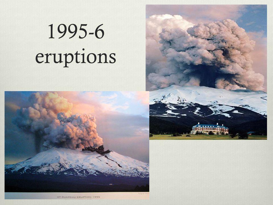 1995-6 eruptions