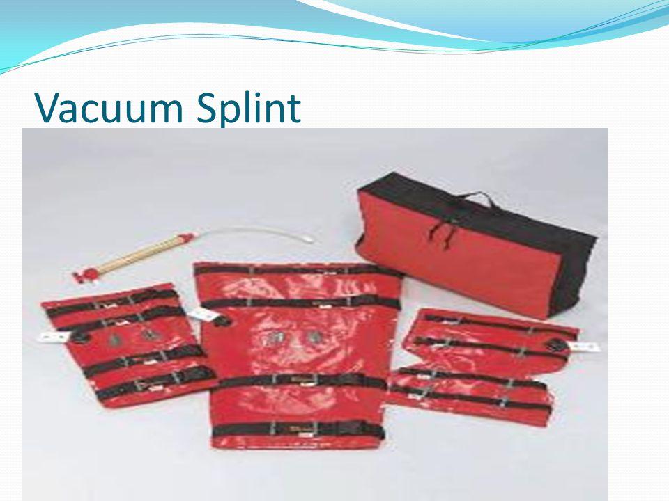 Vacuum Splint