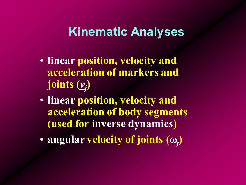 Divide Limb into Segments and Make Free-body Diagrams