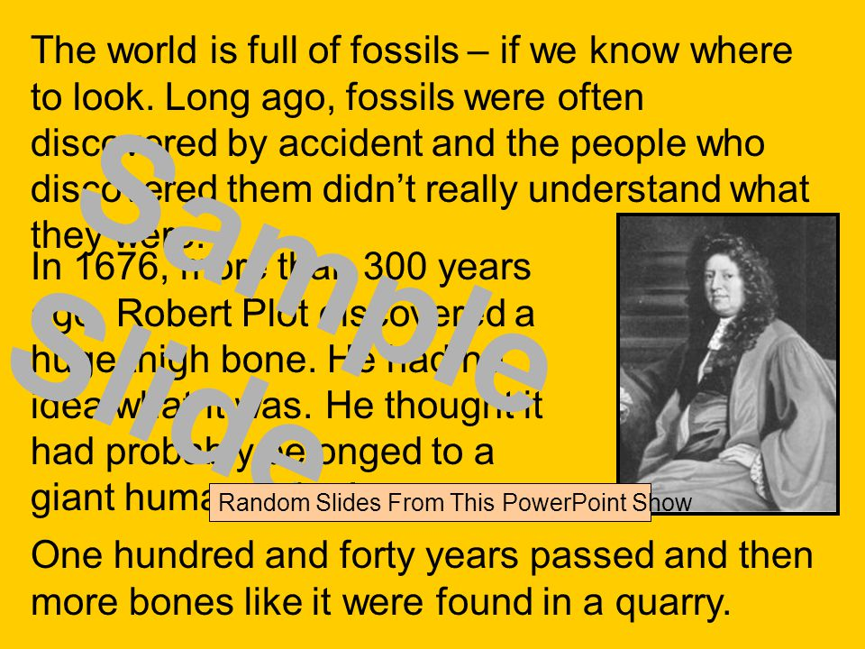 The world is full of fossils – if we know where to look.