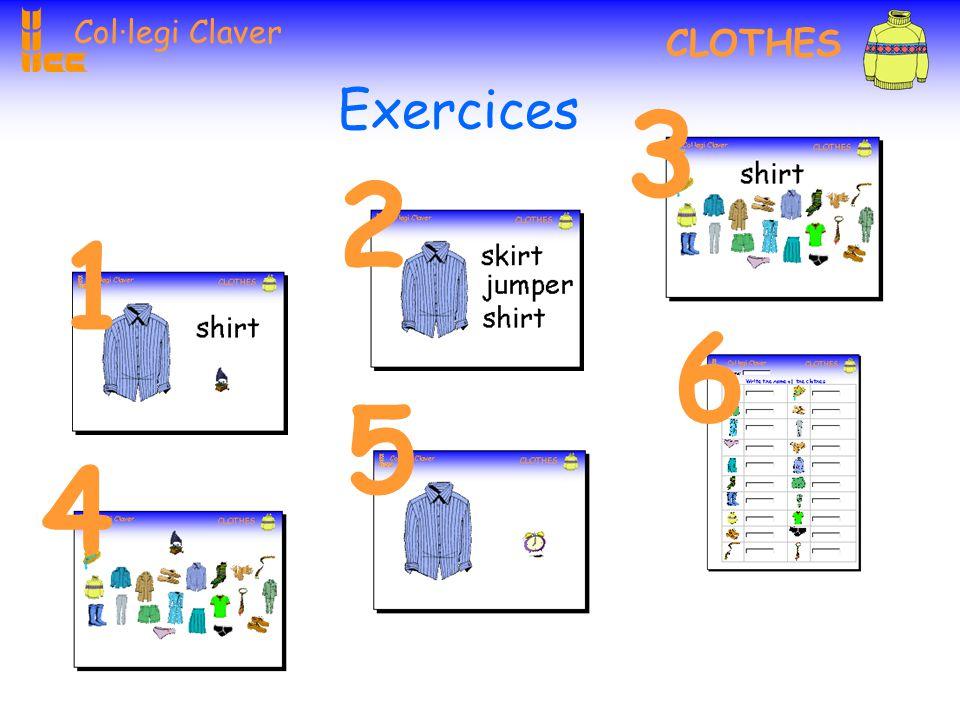 Col·legi Claver CLOTHES Click here Click here