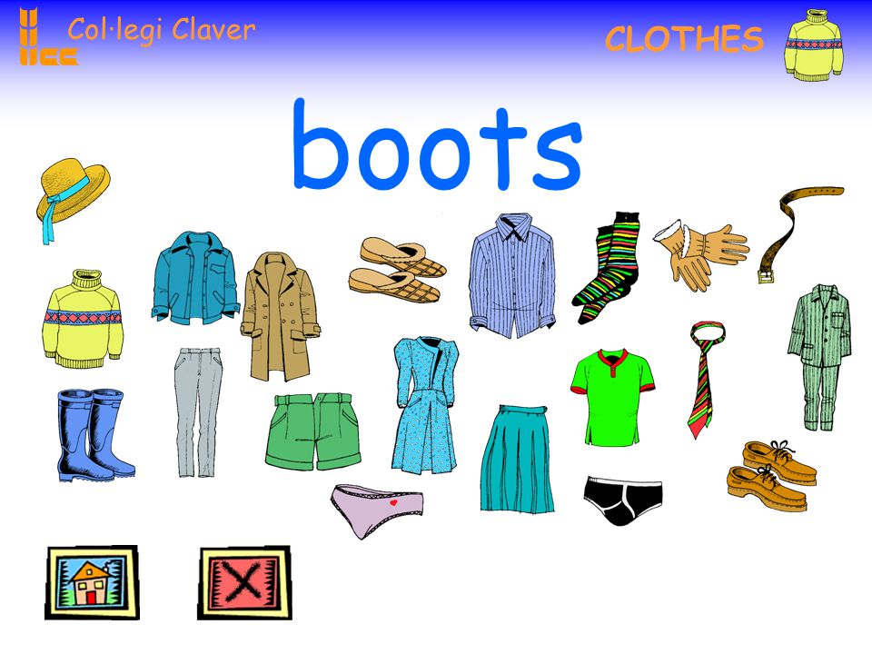 Col·legi Claver CLOTHES socks