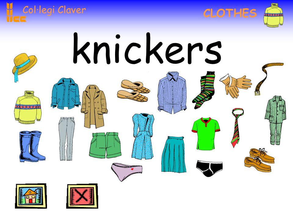 Col·legi Claver CLOTHES tie