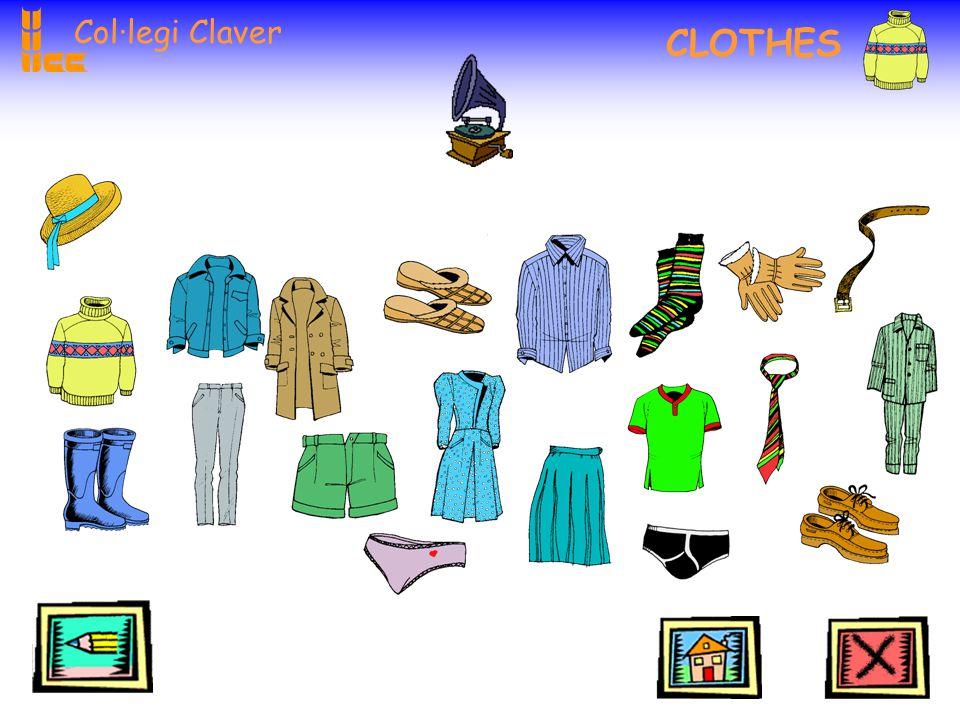 Col·legi Claver CLOTHES