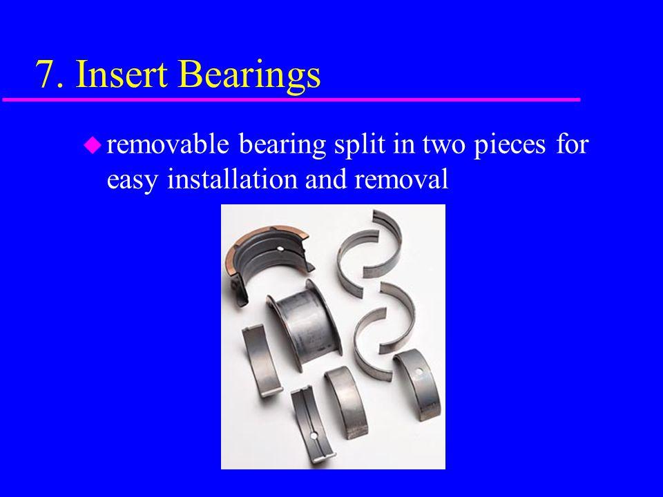6. Connecting Rods u Steel Rod Aluminum Rod