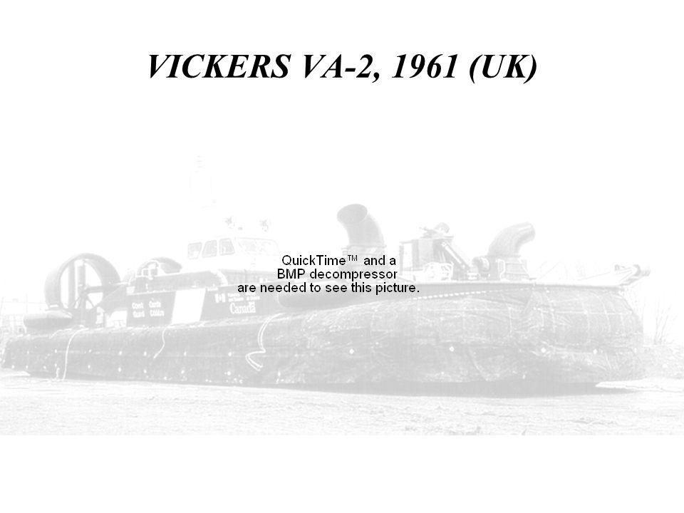 VICKERS VA-2, 1961 (UK)