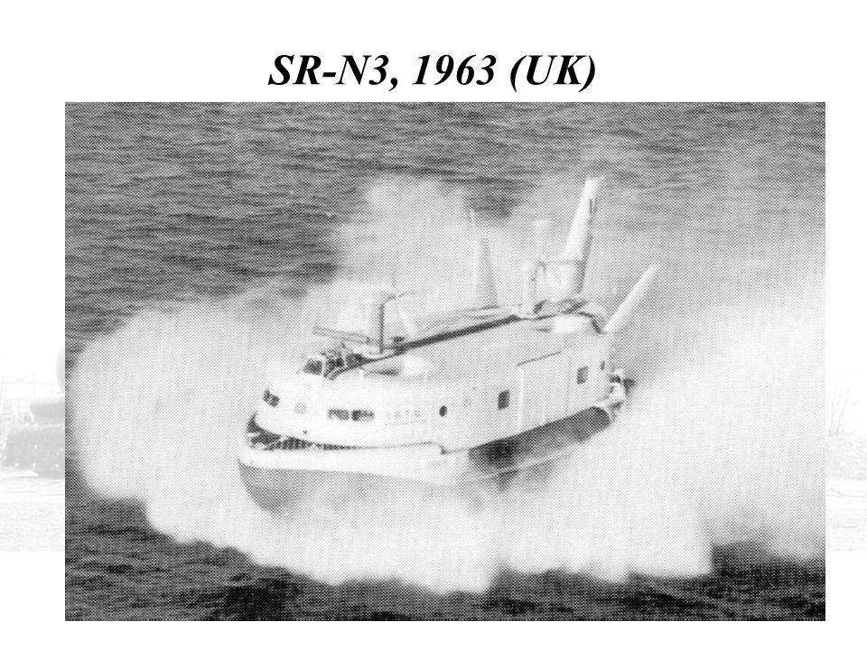 SR-N3, 1963 (UK)