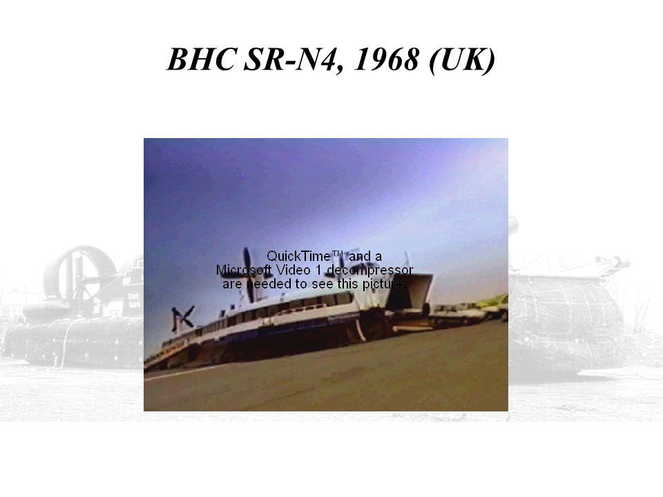 BHC SR-N4, 1968 (UK)