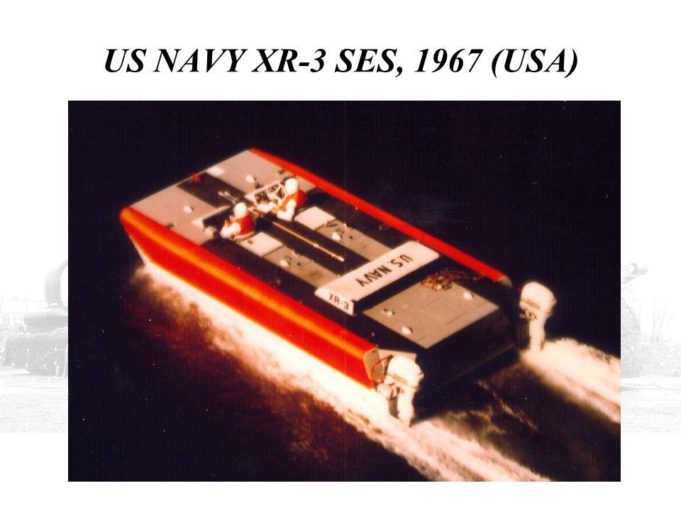 US NAVY XR-3 SES, 1967 (USA)