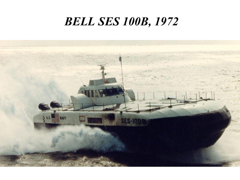 BELL SES 100B, 1972