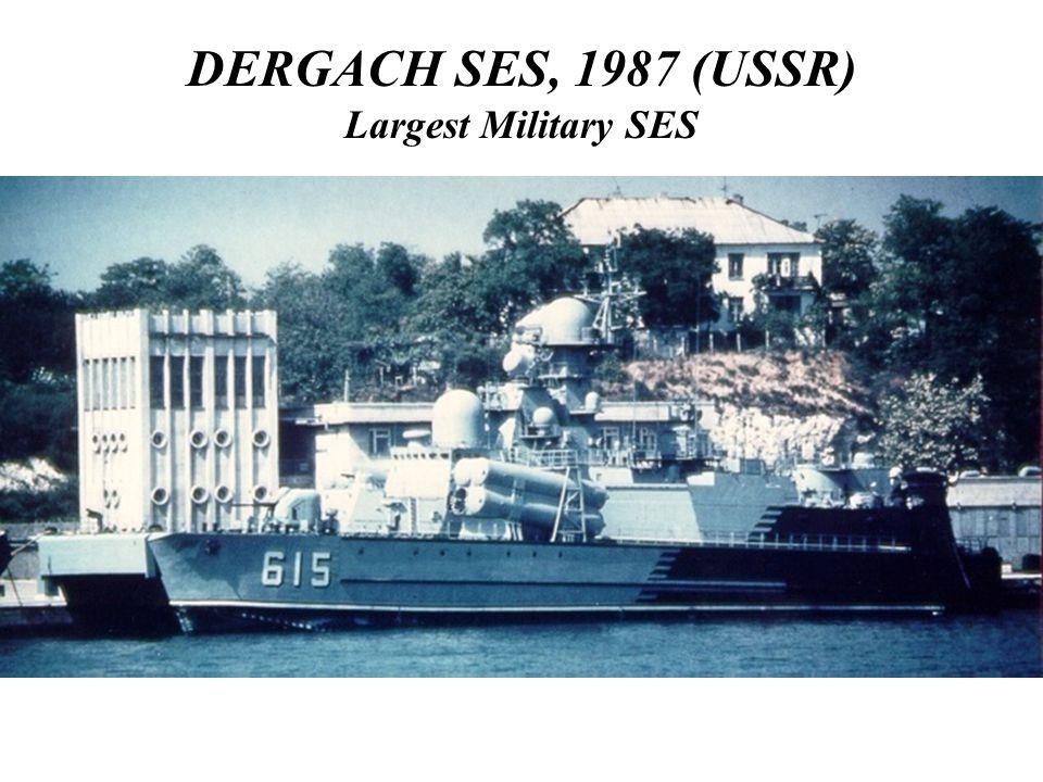 DERGACH SES, 1987 (USSR) Largest Military SES