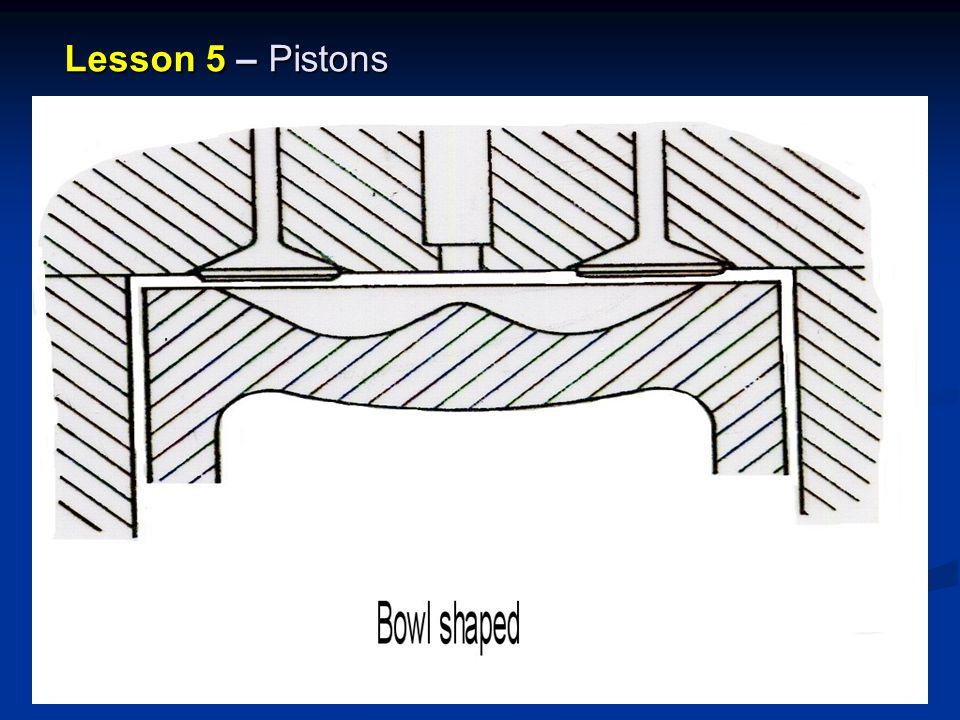 Lesson 5 – Pistons