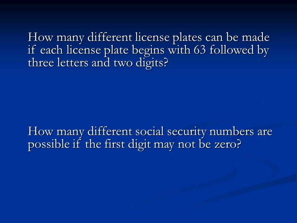 How many different license plates can be made if each license plate begins with 63 followed by three letters and two digits.