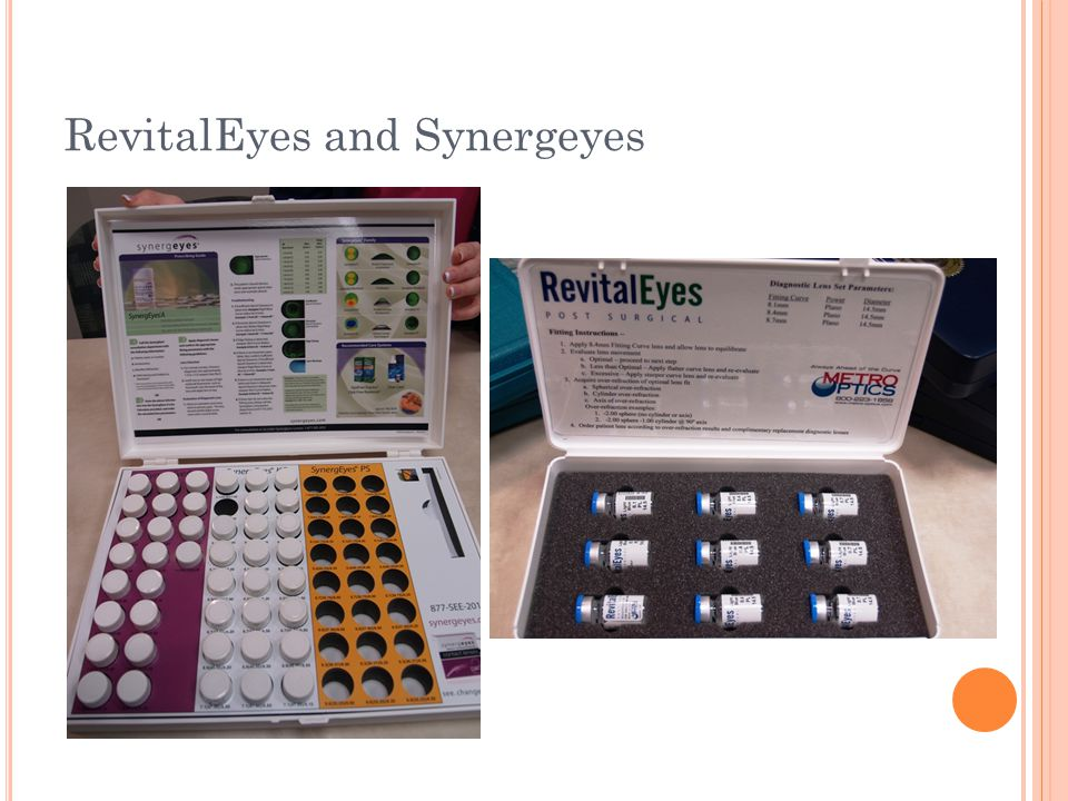 RevitalEyes and Synergeyes