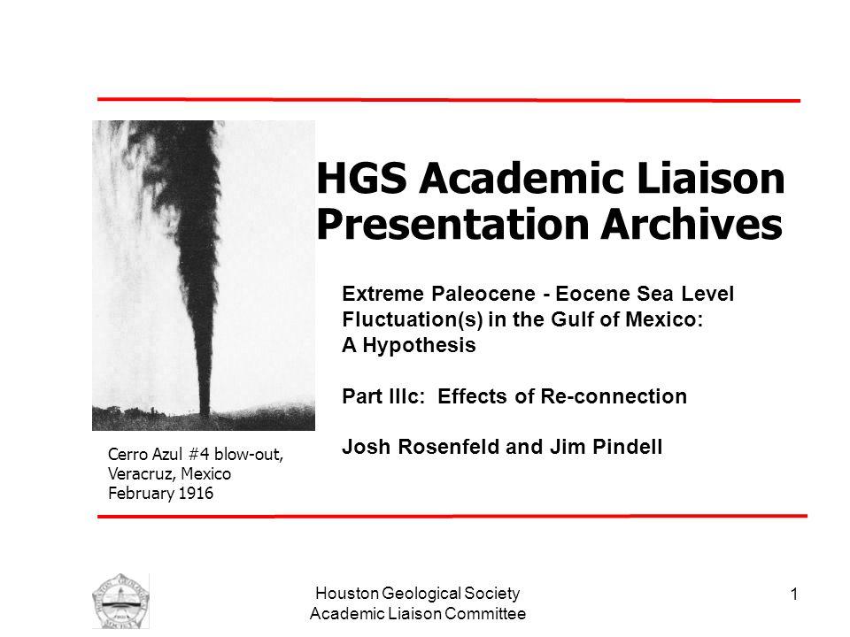 Houston Geological Society Academic Liaison Committee 2 Sierra de Chiapas – El Bosque Fm.