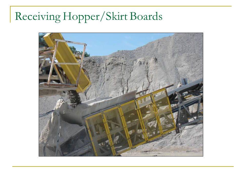 Receiving Hopper/Skirt Boards