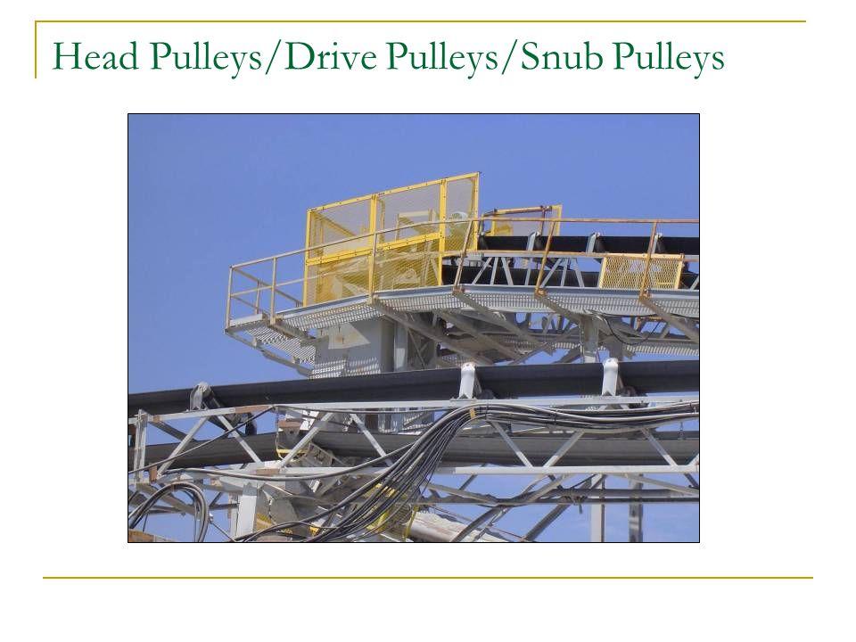 Head Pulleys/Drive Pulleys/Snub Pulleys