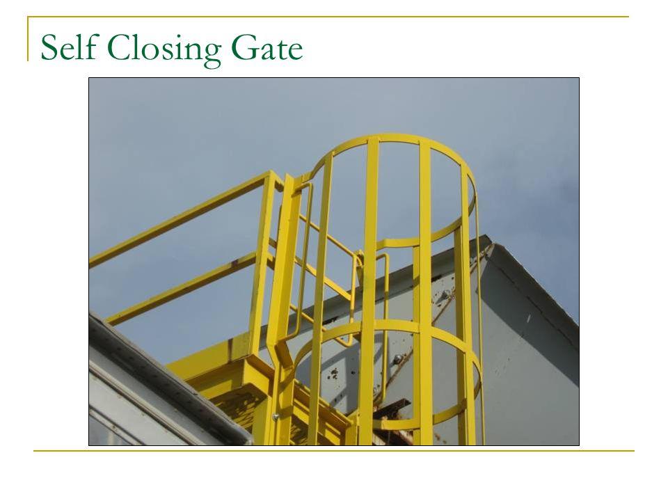 Self Closing Gate