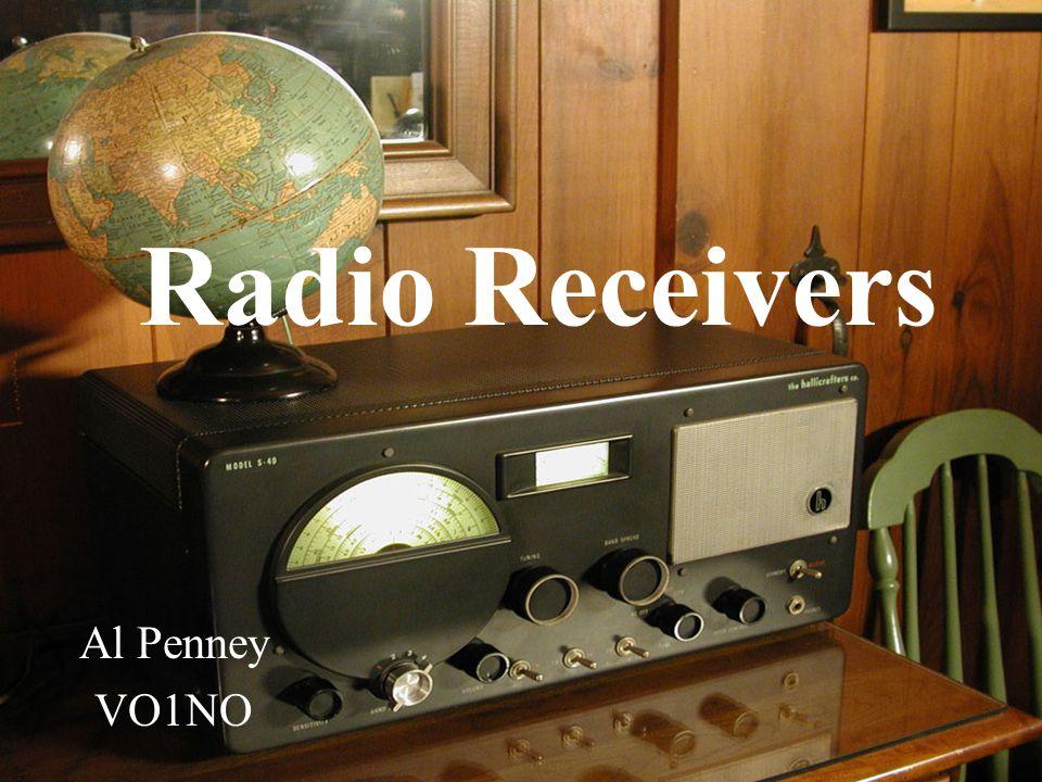 Radio Receivers Al Penney VO1NO
