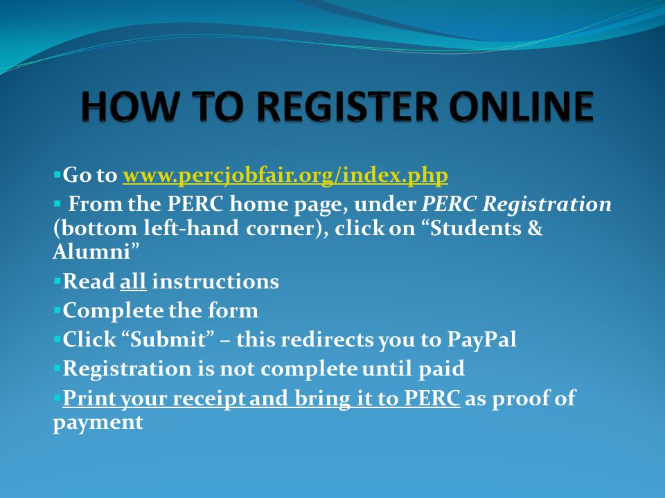  Pre-register by March 7, 4:30 p.m.
