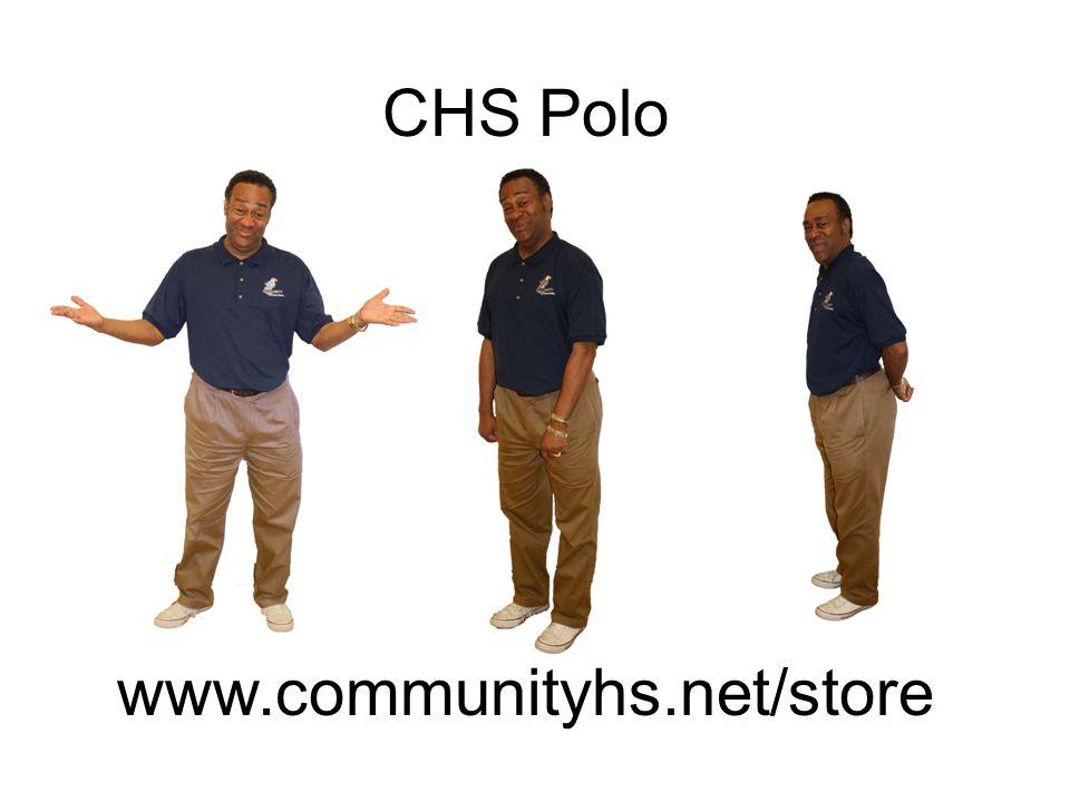 CHS Polo www.communityhs.net/store