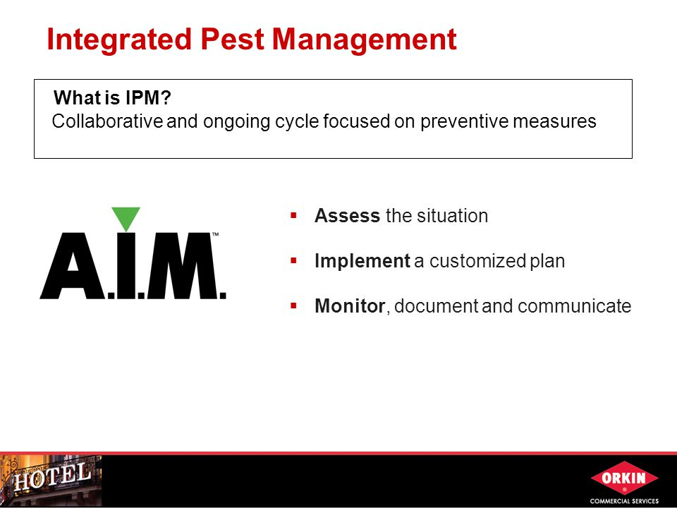 Integrated Pest Management What is IPM.