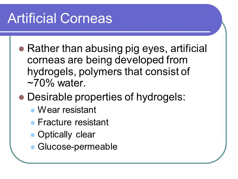 Picture of Artificial Iris