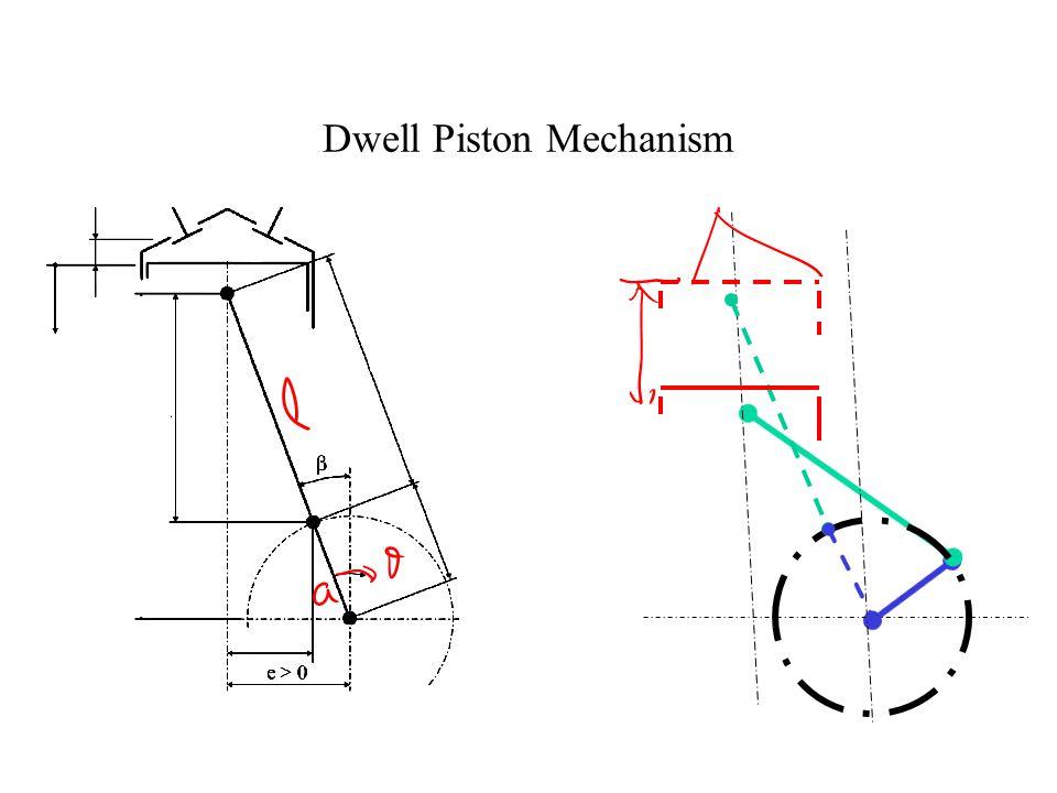 Dwell Piston Mechanism