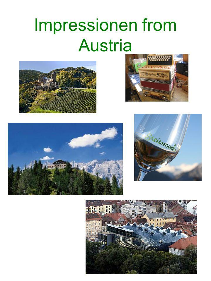 Impressionen from Austria