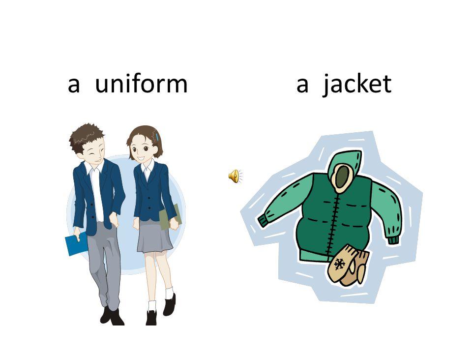 a uniforma jacket