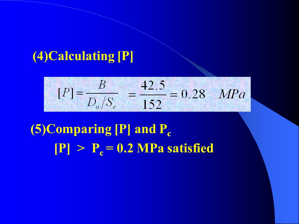 (2)Calculating the value of  (A) Checking the Figure 5-5, getting: A = 0.00035 (3)Calculating the value of B From Figure 5-9, we can see that point A