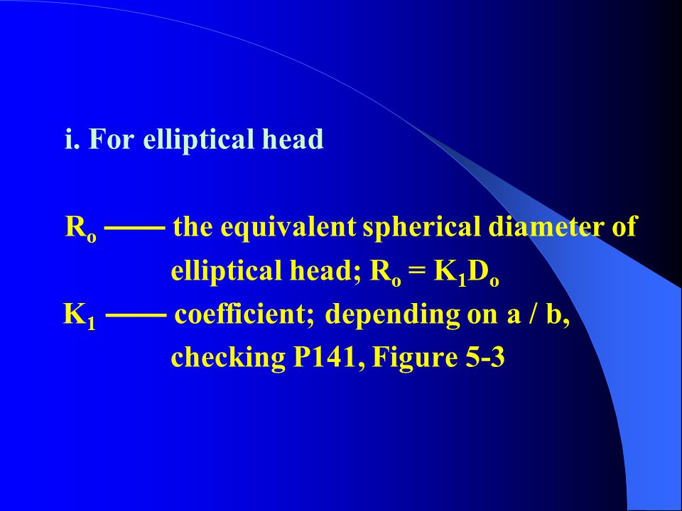 2.Design of external-P convex head The method of designing the external-P convex head is the same to that of designing external-P spherical head. But